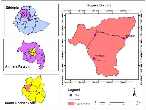 Location of Fogera District